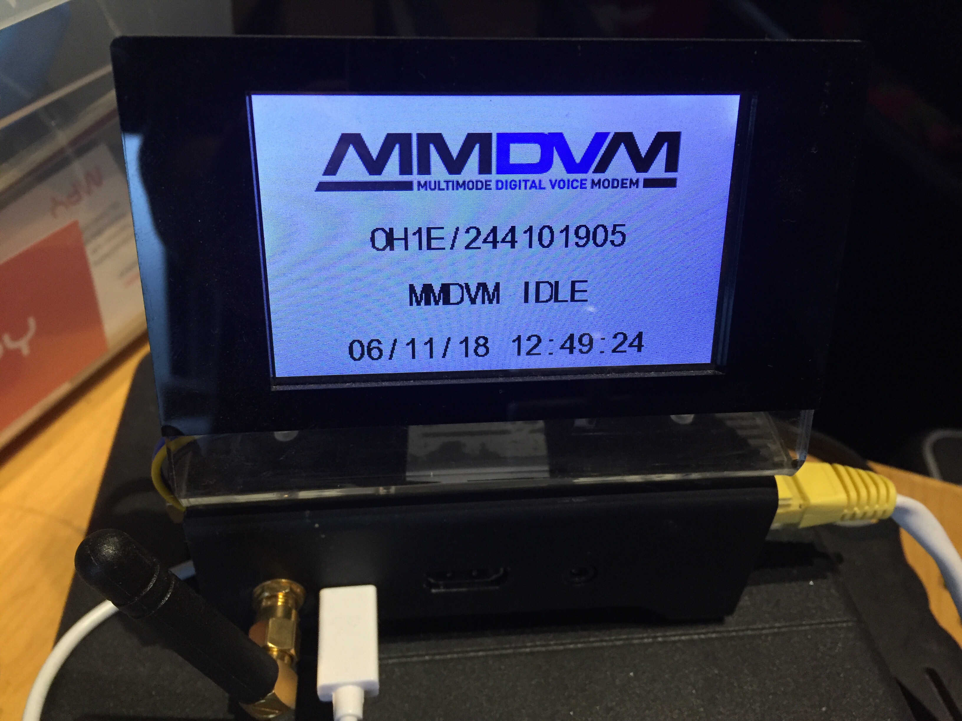 Mmdvm Ber Error Rate Tuning Oh1e Rikus Blog Radio Modem Circuit Howto Tune Your Hotspot To Also On Pi Star